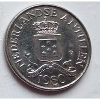 Нидерландские Антильские острова 25 центов, 1980 1-1-19