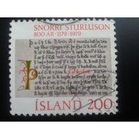 Исландия 1979 рукописная книга 12 века