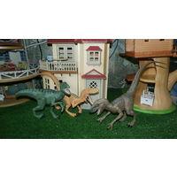 3 Фигурки Динозавров HASBRO Мир Юрского Периода Титаны Велоцирапторы- Эхо,Чарли и Дельта JURASSIC WORLD