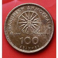 16-03 Греция, 100 драхм 1994 г.