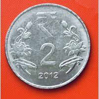 17-22 Индия, 2 рупии 2008 г. (Хайдарабад)