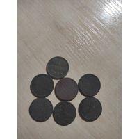 Пол копейки СССР 1925-1927 (7 монет)