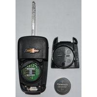 Ключ складной для автомобиля Chevrolet б.у оригинал GM 13500221