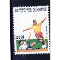 Гвинея.Спорт.Чемпионат мира по футболу.Франция.1998.