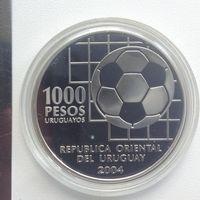 Уругвай 1000 песос 2004г