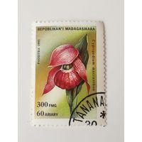 Мадагаскар 1993. Орхидеи. Цветы.