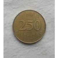250 ливров 2000 г. Ливан