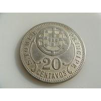 Сан-Томе и Принсипи.  20 Сентаво 1929 год KM#3