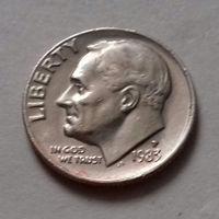 10 центов (дайм) США 1983 P
