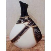 Большая винтажная ваза,с Рубля,без М.Ц.подписная