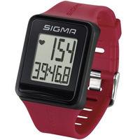 Пульсометр Sigma ID.GO красный