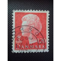 Дания. Стандарт. 1977г. гашеная