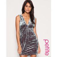 Платье ASOS PETITE Twisted Velvet Dress 42 р-р