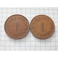 Мальта 1 цент (список)