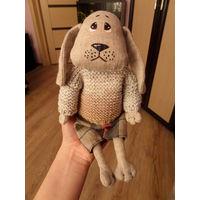 """Текстильная игрушка Пёс """"Ушастик"""""""