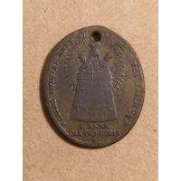 Католический медальон S. Anna