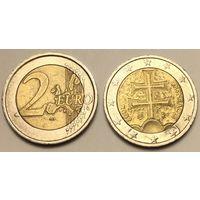 Словакия, 2 евро 2009