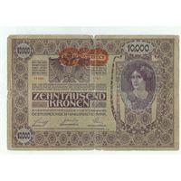 Австрия, 10000 крон 1918 год