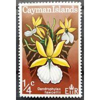 Почтовая марка 1971 Orchids - Каймановы острова