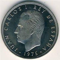 Испания 100 песет 1975 г