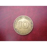 10 пфеннигов 1995 год  D Германия