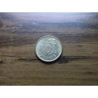 Финляндия 10 пенни 1982
