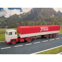 Модель грузового автомобиля SCANIA (2). Масштаб HO-1:87.
