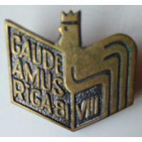 Знак Gaudeamus VIII / Riga 81, фестиваль Гаудеамус (тяжелый металл)