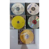 CD музыка 5 дисков лот