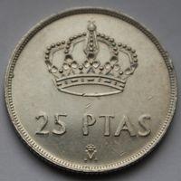 25 песет 1984 Испания