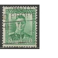 Новая Зеландия. Король Георг VI. 1938г. Mi#236.