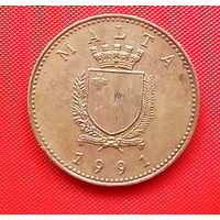 53-24 Мальта, 1 цент 1991 г.