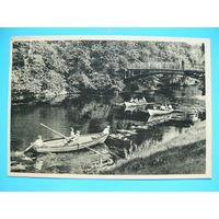 Федосеев Б.(фото), Рига. На лодках по городскому каналу, ~1960-е гг., чистая (почтовая карточка).
