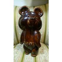 Большой олимпийский мишка. 29см. ЗИК, Конаково.