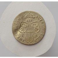 Княжество Бранденбург-Пруссия. Фридрих III. Три гроша 1696 г.