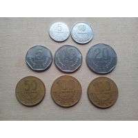 Лот монет Коста-Рики - с 10 копеек!