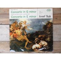 И. Сук (скрипка), оркестр Чешской филармонии, дир. К. Анчерл - М. Брух, Ф. Мендельсон-Бартольди. Концерты для скрипки с оркестром - Supraphon, 1965 г.