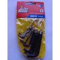 Шестигранные ключи 8 штук пр-во польша распродажа