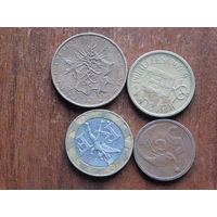 Четыре монеты  за 0.99 копеек