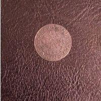 Полугрош 1556 года. Серебро