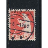 Дания Гренландия автономия 1963 Белый медведь Стандарт #59