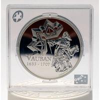 1 1/2 евро 2007 Франция Себастьен Ле Претр де Вобан (Sebastien Le Prestre de Vauban) Серебро