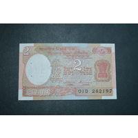 Индия 2 рупии образца 1975-1966 UNC p79l