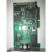 Видеокарта S3 Trio3D/2X 4mb AGP