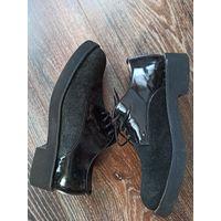 Полуботинки туфли женские 36 рр (23-23,5 см)