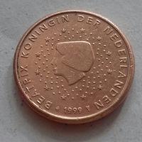 1 евроцент, Нидерланды 1999 г.
