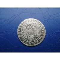 6 грошей (шостак) 1667 (2)         (2837)