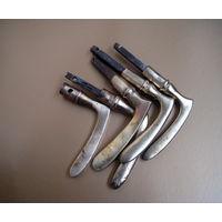 5 ручкек дверных (не комплект) латунь