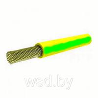 Провод ПуГВ-1х6 жел/зел