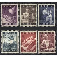 Австрия 1954 Mi# 999-1004 (MNH**)